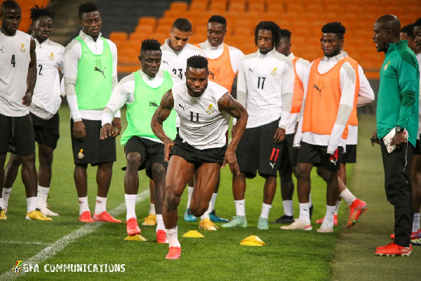Black Stars to open camp next month ahead of Zimbabwe clash