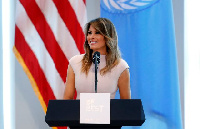 Melania Trump,  First Lady of the United States of America