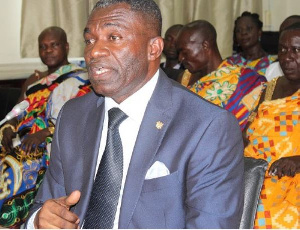 William Agyapong Quaitoo is CEO of the Tree Crop Development Authority