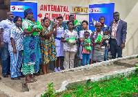 Total Petroleum Ghana Ltd assisted by donating items to aid in the prevention and control of Malaria