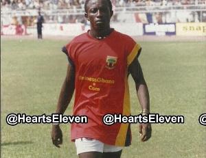 Former Accra Hearts of Oak midfielder, Eric Nyarko