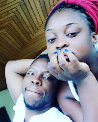Edem and his wife
