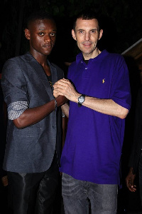 DJ Asante and Tim Westwood