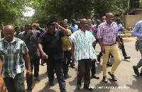 Koku Anyidoho was arrested at the International Press Centre after being charged with treason