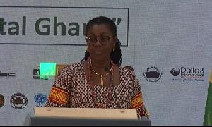 Minister for Communication, Mrs. Ursula Owusu-Ekuful