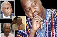 Mahama Ayariga, Dr Boakye Agyarko, Mohammed Muntaka, Joe Osei Owusu