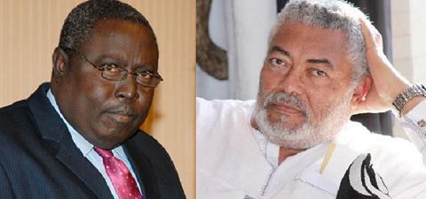 Special Prosecutor nominee, Martin Amidu and Ex-President Jerry John Rawlings