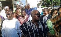 Nana Addo Akufo-Addo and some NPP leaders
