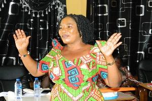 Lena Alai, Volta Regional Director, Department of Gender