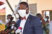 Dr. Bernard Okoe-Boye, Deputy Minister of Health