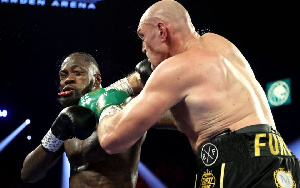Fury handed Wilder a round knockout