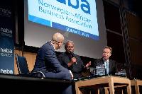 President John Dramani Mahama at the 2014 NABA summit