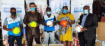 Decathlon Ghana presents 1000 footballs to GFA
