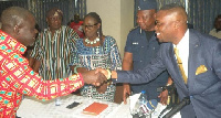 Minister for Transport, Kwaku Ofori Asiamah, has inaugurated the reconstituted Boards of NRSC, GSA