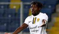 Joseph Paintsil was sent off as Hatayspor defeated Ankaragucu 4-1