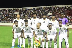 Ghana won their first match 2-0