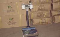 One of the electronic scales to be distributed