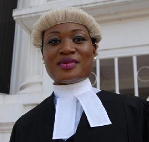Actress, Lawyer Sandra Ankobiah