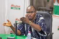 Abass Nurudeen, Ashanti Regional deputy communications officer, NDC