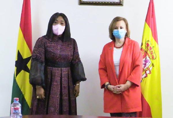 Ayorkor Botchwey appeals to Spain for Ghana's UN Security Council bid