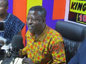 Member of Parliament for Bantama constituency, Daniel Okyem Aboagye