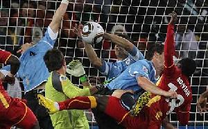Suarez's handball and Gyan's penalty miss denied Ghana historic semi-final spot