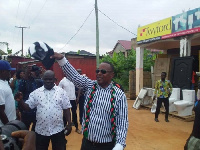 Parliamentary aspirant for Bortianor Ngleshie Amanfro Constituency, Felix Okle