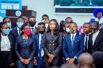 Zino Lexili Ogazi conferred the' Honorable' title, sworn in as United Nations Youth Shadow Minister for Tourism, Arts, Culture Ghana