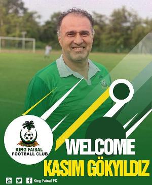 King Faisal Head Coach, Kasim Gokyildiz