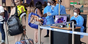 File Photo: All travelers entering Ghana after the ban on Sunday will be under mandatory quarantine