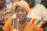 Minister for Tourism, Culture and Creative Arts, Catherine Ablema Afeku