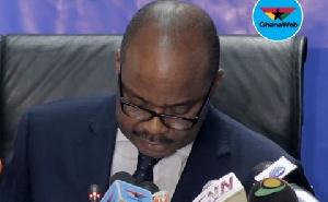 Dr Ernest Addison, Governor, Bank of Ghana