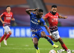 Wakaso impresses for Jiangsu Sunning FC in 1-1 draw against Shanghai SIPG