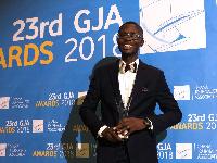 Bernard Avle received the ultimate award at the 23rd GJA awards