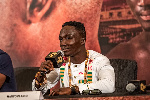 Ghanaian boxer Jessie Manyo Plange