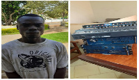 Kwame Owusu is a specialized musical instrument thief