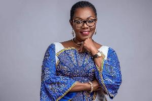 Mrs Ursula Owusu-Ekuful, Minister of Communication and Digitization