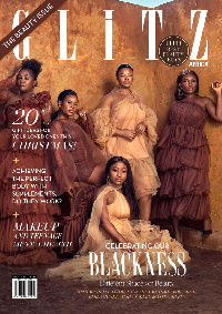 Cover of Glitz Africa's 26th beauty issue