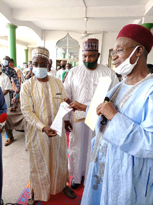 The Vice President has also decided to give the Central Mosque a befitting status by renovating it