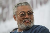 Ex-Prez Rawlings believes the NDC lost the elections because it chose to stay on the slippery slope