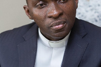 Reverend David Zungbey, Pastor in charge of the Mountain of Grace Cathedral of the A.M.E
