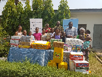Karpowership Ghana Limited donates food items and learning materials to SOS Children's Village