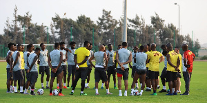 The Black Stars are preparing for the resumption of the 2021 AFCON qualifiers
