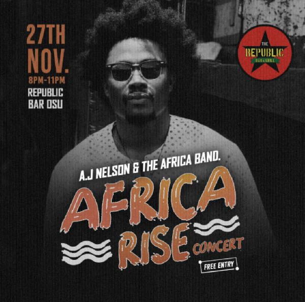 AJ Nelson excites fans with a sequel to his Africa Rise Concert