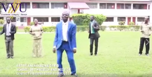 Angkaarama David with others in the video