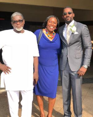 Mawuli Gavor and his parents