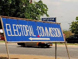 Electoral Commission Sign Board