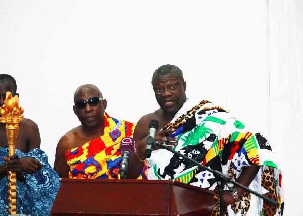 National character ensures strong cohesion -  Daasebre Kwebu Ewusi