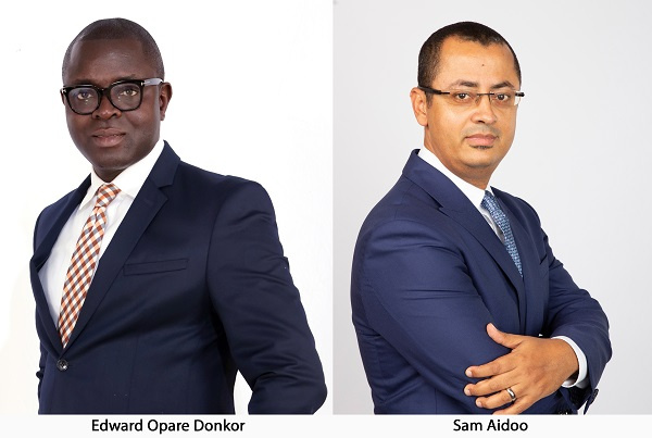 The newly appointed Deputy Managing Directors in-charge of Operations of Fidelity Bank