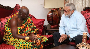 Jerry Rawlings And Otumfour